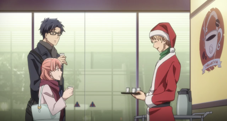 Image result for wotakoi christmas episode