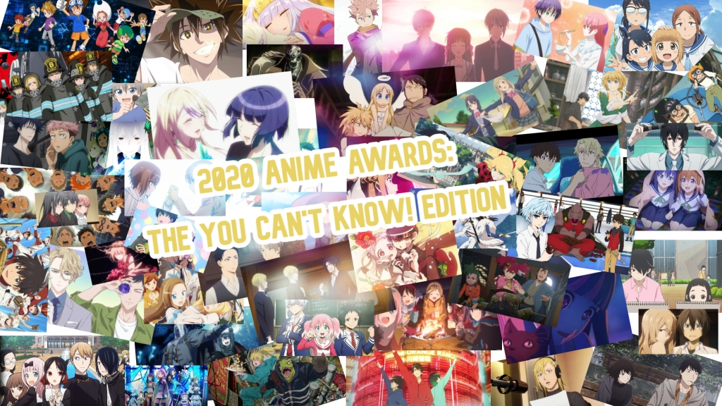 Anime Awards 2020, anime of 2020 You Can't Know!