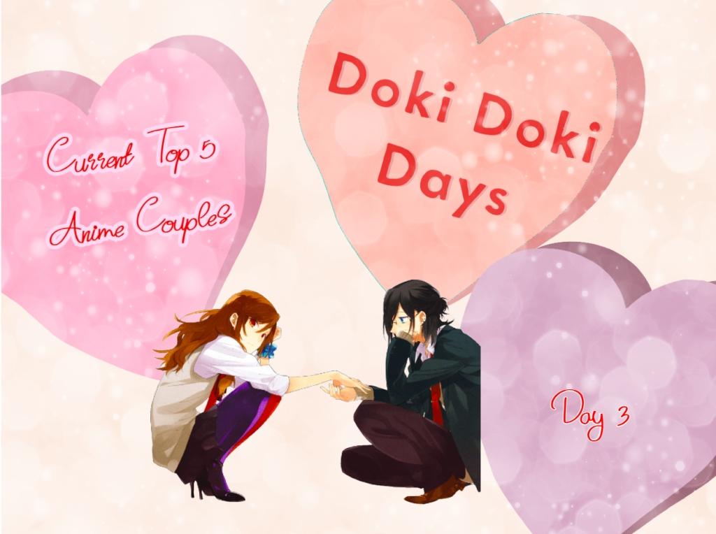 doki doki days hori x miyamura anime couple