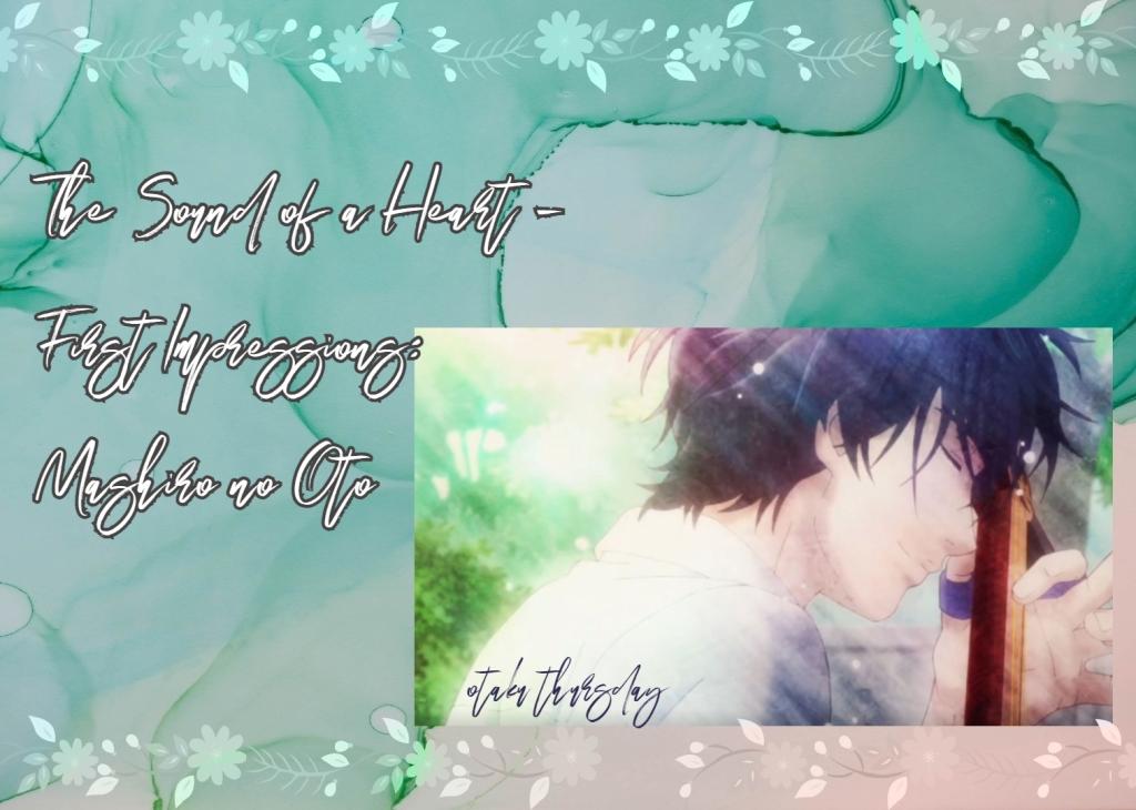 Mashiro no Oto those snow white notes shamisen anime
